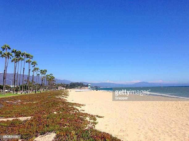 USA, California, Santa Barbara, Beach