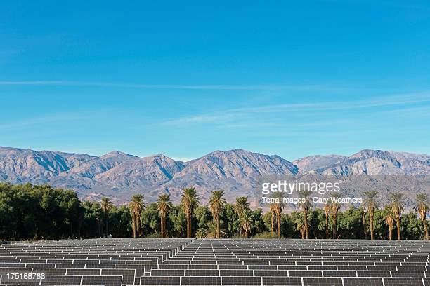 USA, California, Solar Farm at Death Valley
