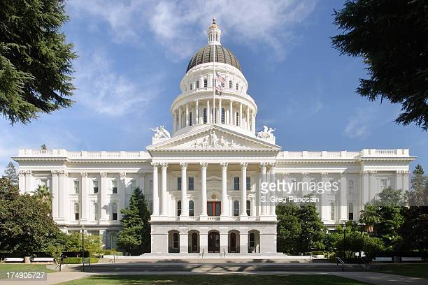 California State Capitol front view
