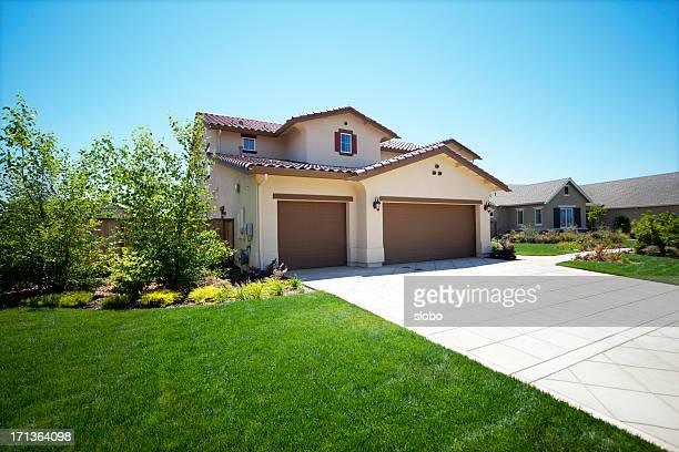 California Suburb House