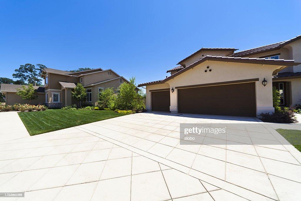 California Suburb : Stock Photo