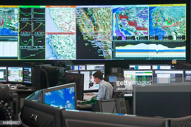 The California ISO is the operator of the state's highvoltage transmission grid Control room