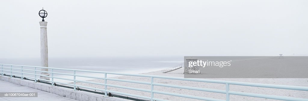 USA, California, view from Manhattan Beach Pier : Foto stock