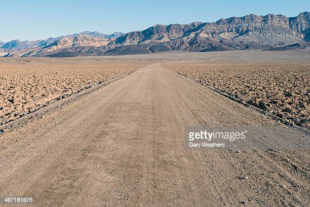 USA, California, View of Death Valley