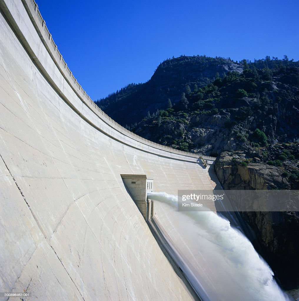 USA, California, Yosemite National Park, Hetch Hetchy dam