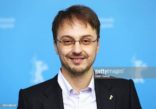 Calin Peter Netzer attends the 'Child's Pose' Photocall during the 63rd Berlinale International Film Festival at Grand Hyatt Hotel on February 11...