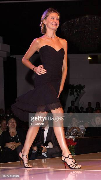 Calista Flockhart during St Jude Runway For Life at Beverly Hilton in Los Angeles California United States