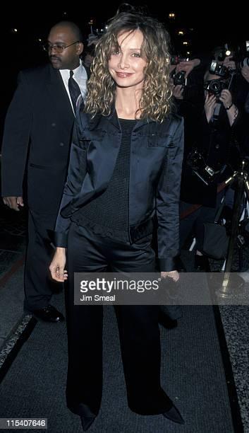 Calista Flockhart during TSA Awards Dinner February 13 2001 at Beverly Wilshire Hotel in Beverly Hills California United States