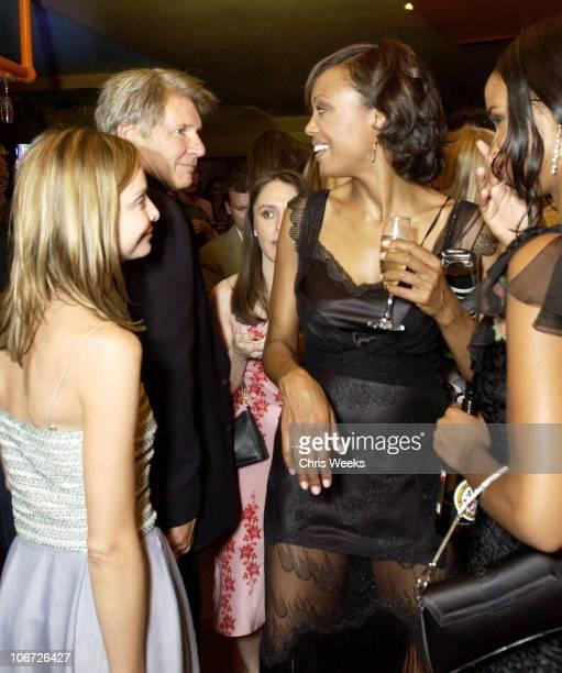 Calista Flockhart Harrison Ford Aisha Tyler Joy Bryant *Exclusive*