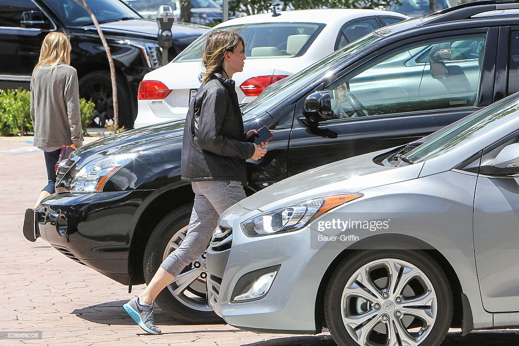 Calista Flockhart is seen on May 06, 2016 in Los Angeles, California.