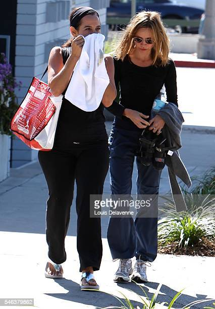 Calista Flockhart Los Angeles August 31 2010 Calista Flockhart wife of Harrison Ford leaving a Cycling lesson on Montana in Brentwood Revpix10083101