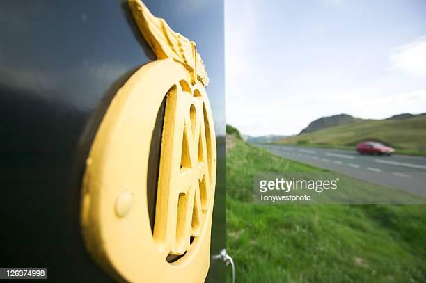 AA call box on Dunmail Raise