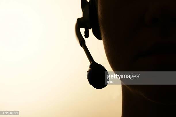 Operador de centro de llamadas