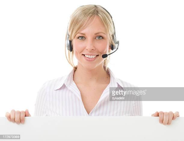 Call Center Poster Holder