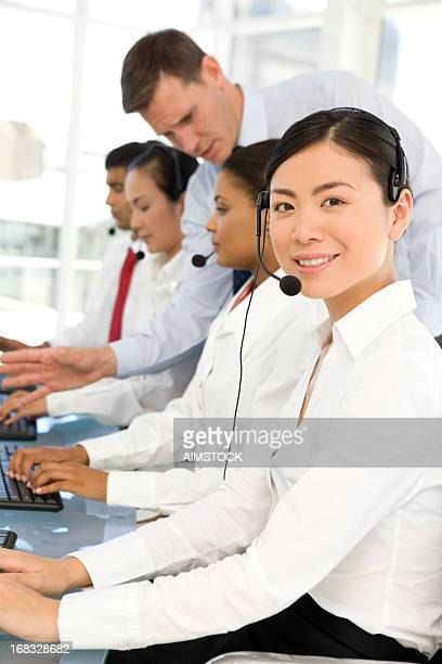 Call center staff