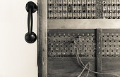 A 100 line telephone exchange functional from 1905 to 1915.