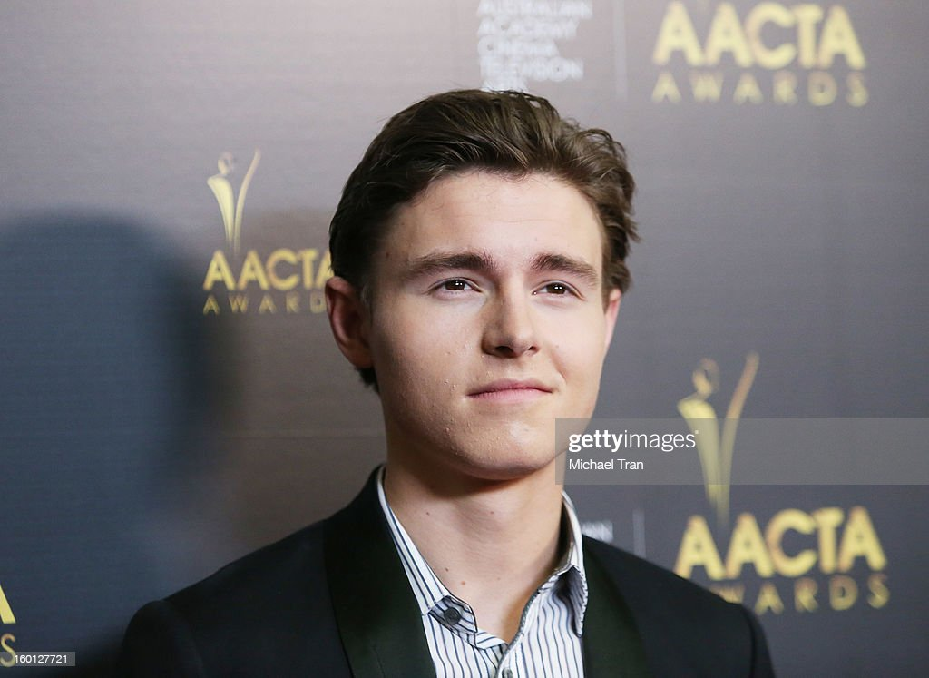<a gi-track='captionPersonalityLinkClicked' href=/galleries/search?phrase=Callan+McAuliffe&family=editorial&specificpeople=6694662 ng-click='$event.stopPropagation()'>Callan McAuliffe</a> arrives at the 2nd AACTA International Awards held at Soho House on January 26, 2013 in West Hollywood, California.