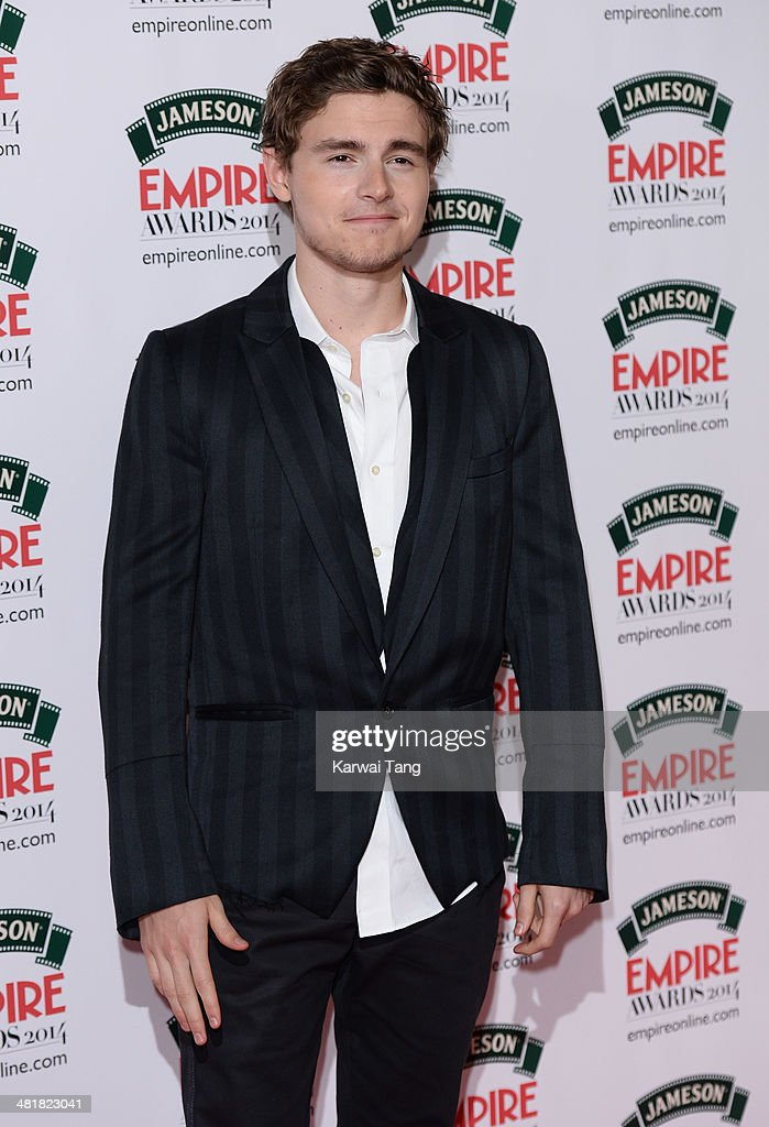 Callan McAuliffe attends the Jameson Empire Film Awards at Grosvenor House on March 30, 2014 in London, England.