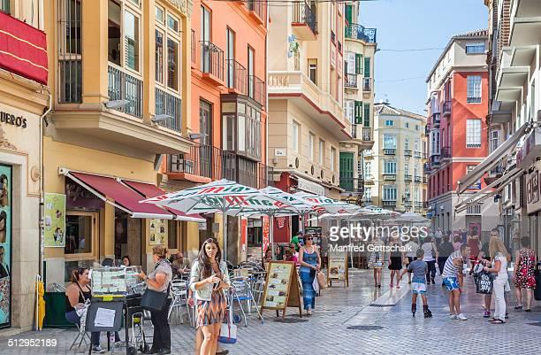 Calle Caldereria Malaga