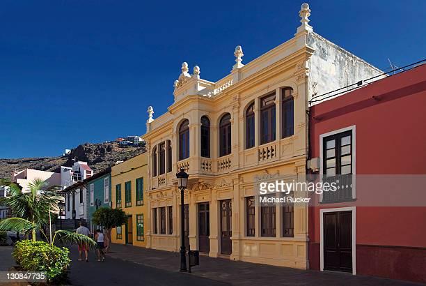 Calle Real, San Sebastian, La Gomera, Canary Islands, Spain, Europe