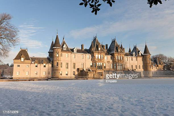 Callendar House, Falkirk at winter.