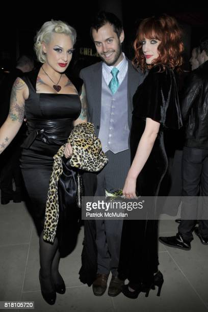 Calli Carvajal Adam McLay and Florence Welch attend OUT 100 Presented by BUICK at IAC Building on November 18 2010 in New York City
