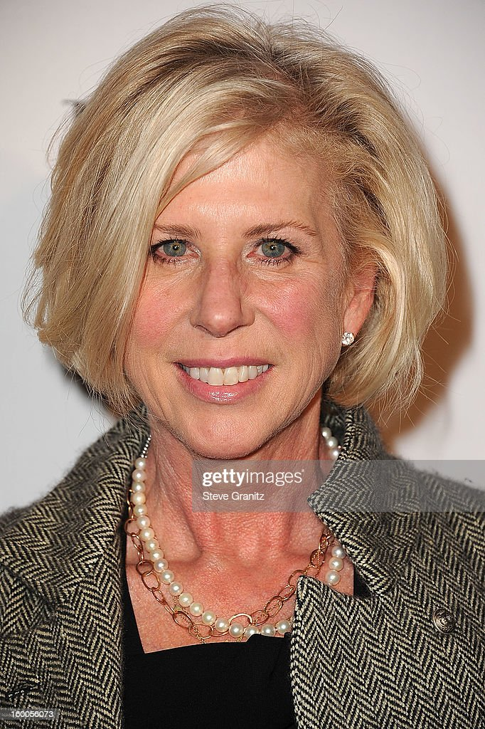 Callie Khouri arrives at the ELLE's 2nd Annual Women In Television Celebratory Dinner at Soho House on January 24, 2013 in West Hollywood, California.
