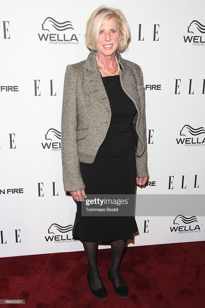 Callie Khouri attends the ELLE Women in Television Celebration presented by Hearts on Fire Diamonds and Wella Professionals held at Soho House on January 24, 2013 in West Hollywood, California.