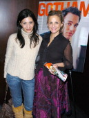 Callie Thorne and Amy Sedaris at Gotham Magazine Celebrates Cover Model Mark Ruffalo with a Screening of his New Film 'Zodiac' at the Bryant Park...