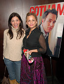 Callie Thorne and Amy Sedaris during Mark Ruffalo Hosts a Private Screening of Zodiac Presented by Gotham Magazine at Bryant Park Hotel Cellar Bar in...
