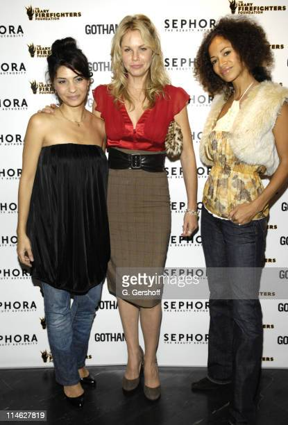 Callie Thorne Andrea Roth and Sherri Saum of 'Rescue Me'