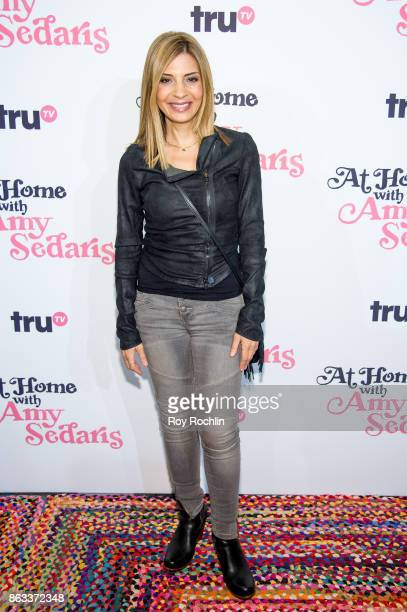 Callie Thorne attends 'At Home With Amy Sedaris' New York Screening at The Bowery Hotel on October 19 2017 in New York City