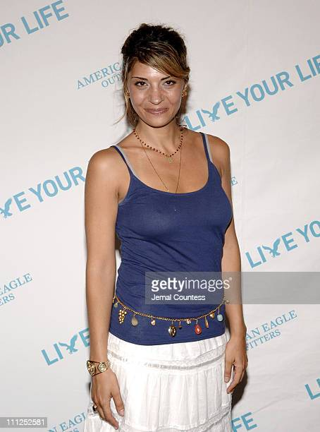 Callie Thorne during American Eagle Outfitters 'Live Your Life' Awards Celebration at American Eagle Outfitters Flagship Store in New York City New...