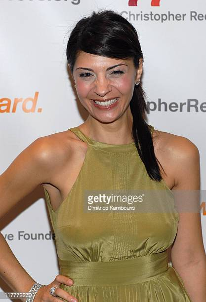 Callie Thorne during Christopher Reeve Foundation Celebrates The Strength and Courage of Christopher Dana Reeve With A Magical Evening Arrivals at...