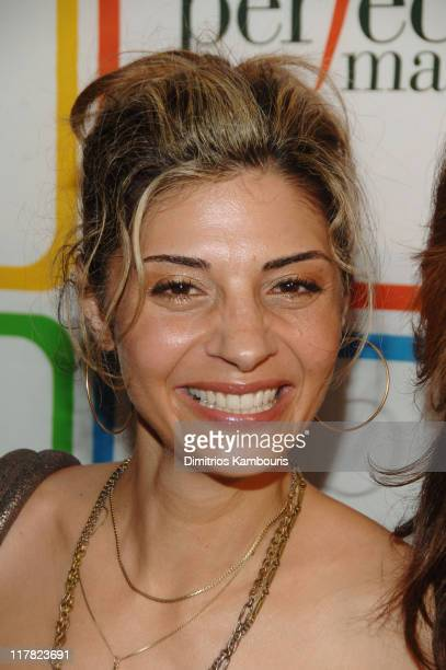 """Callie Thorne during Entertainment Weelky's """"Must List"""" Arrivals/Red Carpet at Buddha Bar in New York City New York United States"""