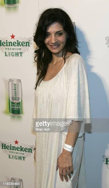 Callie Thorne during Heineken Premium Light Slim Can Launch New York City at Soho Grand in New York City New York United States