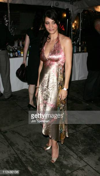 Callie Thorne during 'Rescue Me' Season Three DVD Laucnh Party at Bryant Park in New York City New York United States