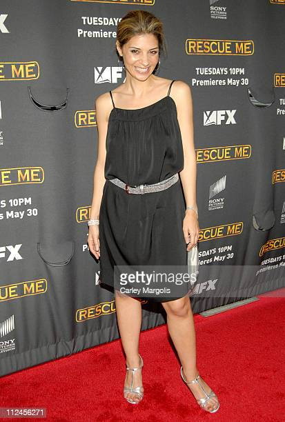 Callie Thorne during 'Rescue Me' Season Three New York Premiere at Ziegfeld Theater in New York City New York United States
