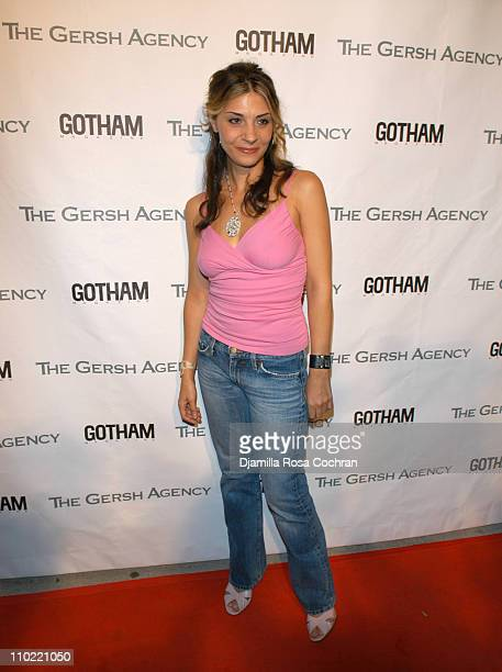 Callie Thorne during The Gersh Agency and Gotham Magazine Celebrate 2005 New York UpFronts at Bed in New York City New York United States