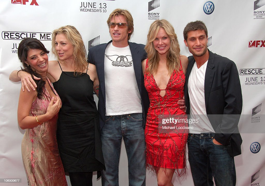 Callie Thorne Tatum O'Neal Denis Leary Andrea Roth and Michael Lombardi