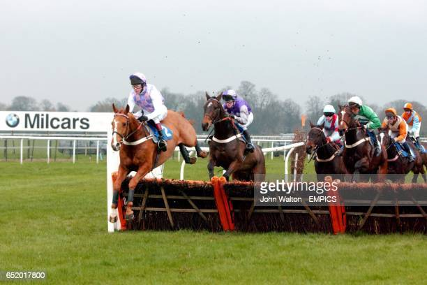 Calling Brave ridden by MA Fitzgerald leads the pack