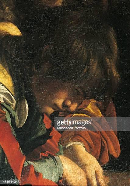 Calling of Saint Matthew by Michelangelo Merisi also known as Caravaggio 1599 1600 16th Century oil on canvas 322 x 340 cm Italy Lazio Rome Church of...