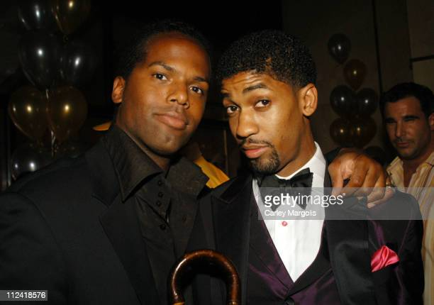 AJ Calloway and Fonzworth Bentley during 2004 CFDA Fashion Awards Sean John / Zac Posen After Party Hosted by Sean 'P Diddy' Combs at Marquee in New...