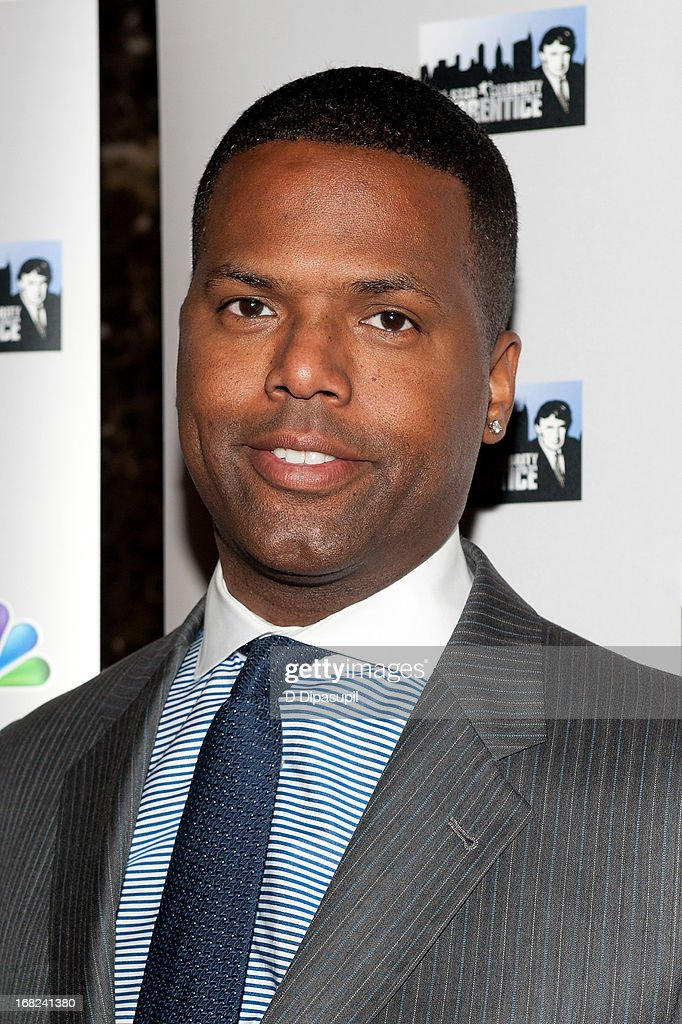 AJ Calloway attends 'The Celebrity Apprentice All-Stars' Red Carpet at Trump Tower on May 7, 2013 in New York City.
