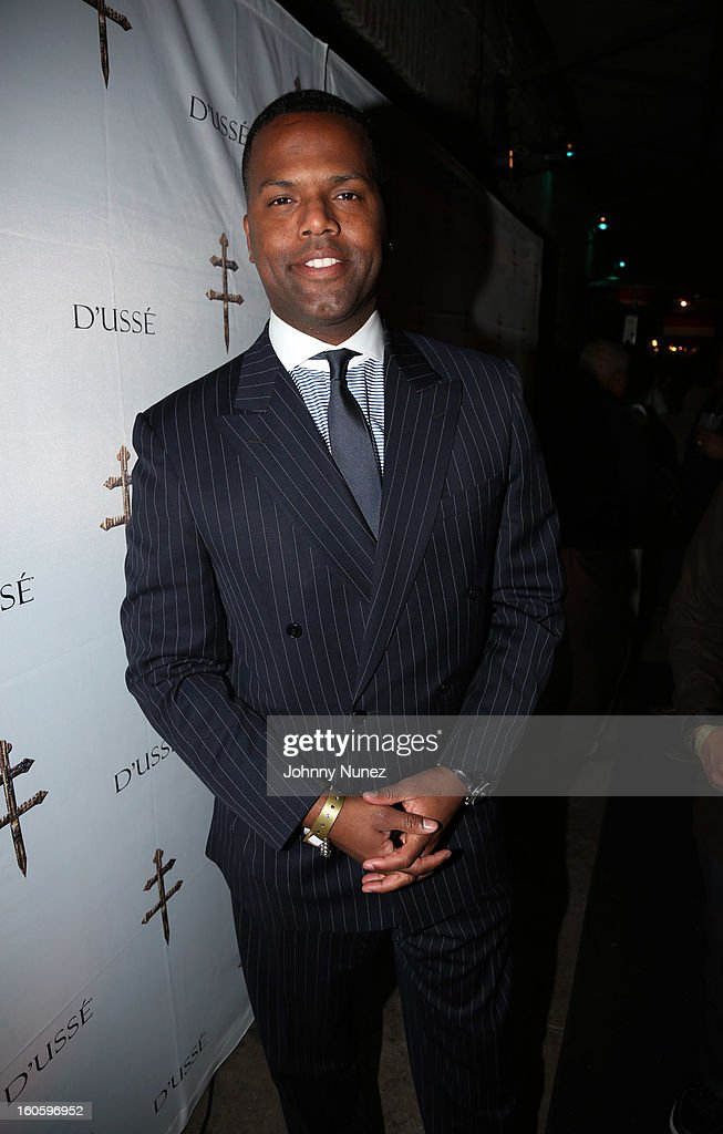 AJ Calloway attends the Jay-Z & D'Usse Super Bowl Party at The Republic on February 2, 2013, in New Orleans, Louisiana.