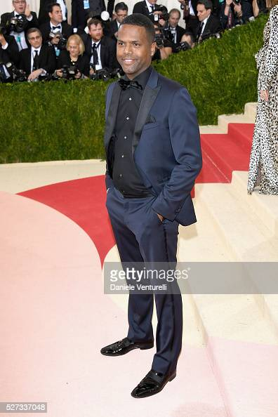 A J Calloway attends the 'Manus x Machina Fashion In An Age Of Technology' Costume Institute Gala at Metropolitan Museum of Art on May 2 2016 in New...