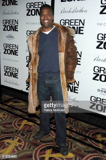Calloway attends UNIVERSAL PICTURES with THE CINEMA SOCIETY BROOKS BROTHERS host the World Premiere of 'GREEN ZONE' at AMC Loews Lincoln Square on...