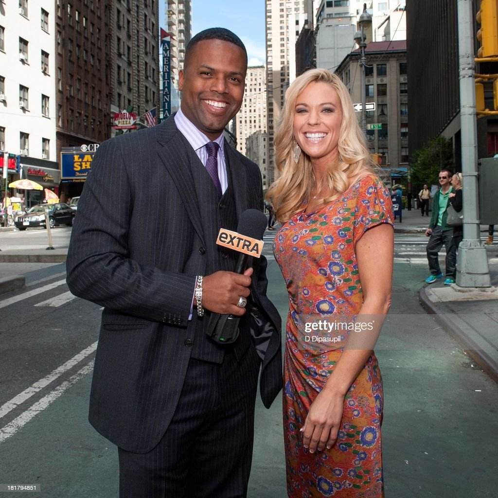 kate gosselin s aj calloway l interviews tv personality kate gosselin during her to extra