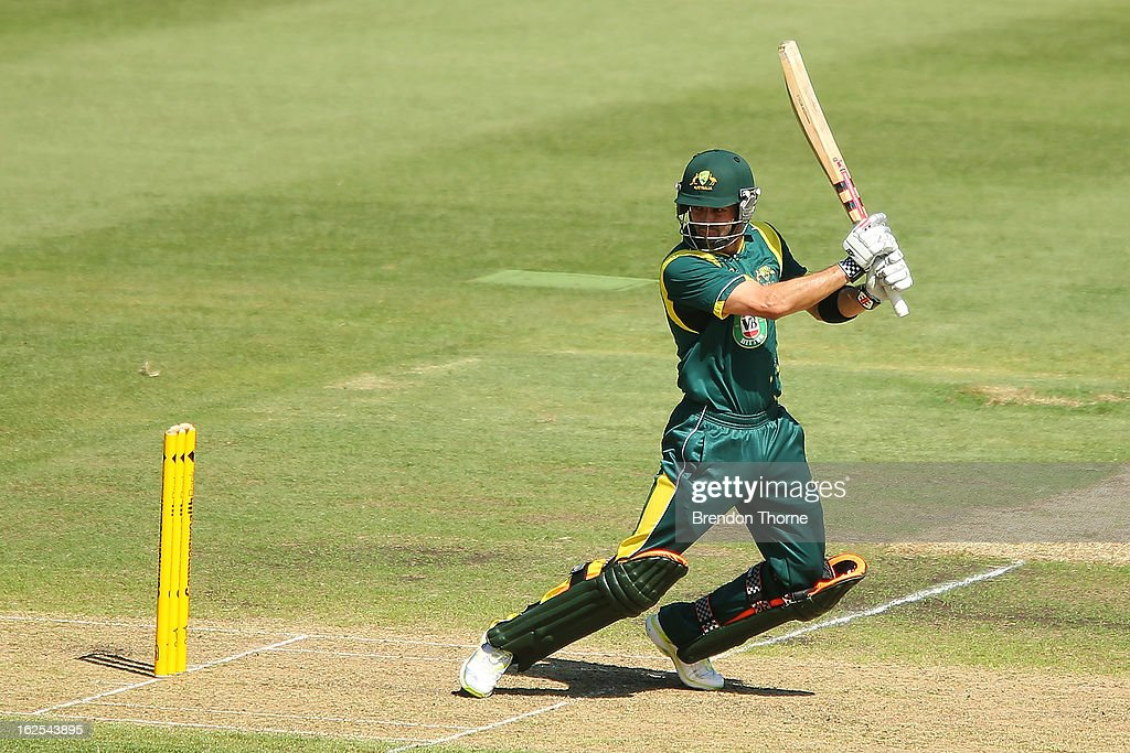 Callum Ferguson of Australia 'A' bats during the International Tour match between Australia 'A' and the England Lions at Sydney Cricket Ground on February 25, 2013 in Sydney, Australia.