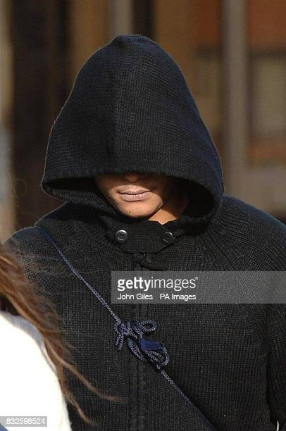 Callum Myers arriving at Huddersfield Magistrates Court today where he was sentenced to four months in a detention centre for allowing his...